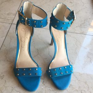 Jessica Simpson Ankle Strap High Heels
